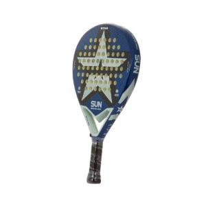 STAR Padel - Racchetta da padel semi professionale - Blue/Argent