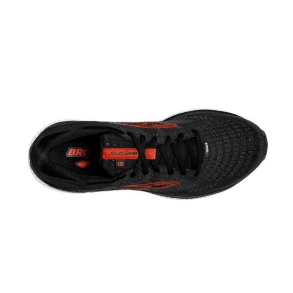 Brooks Glycerin 19 - Scarpa uomo - Black/Red