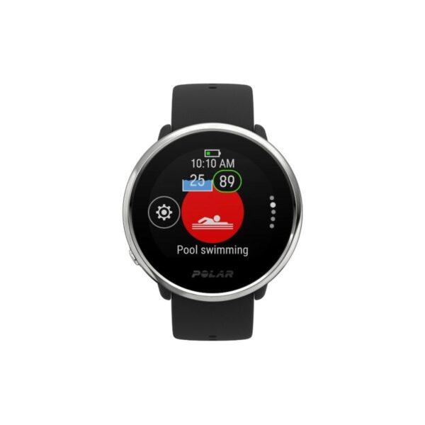 Polar IGNITE - Fitness Watch - Black/Silver