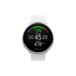 Polar IGNITE - Fitness Watch - White/Silver